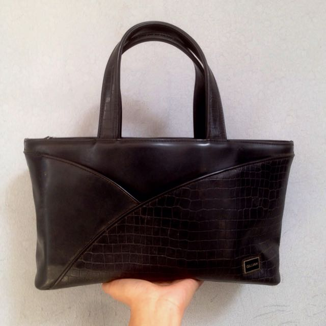 GILLIAN Bag // Black