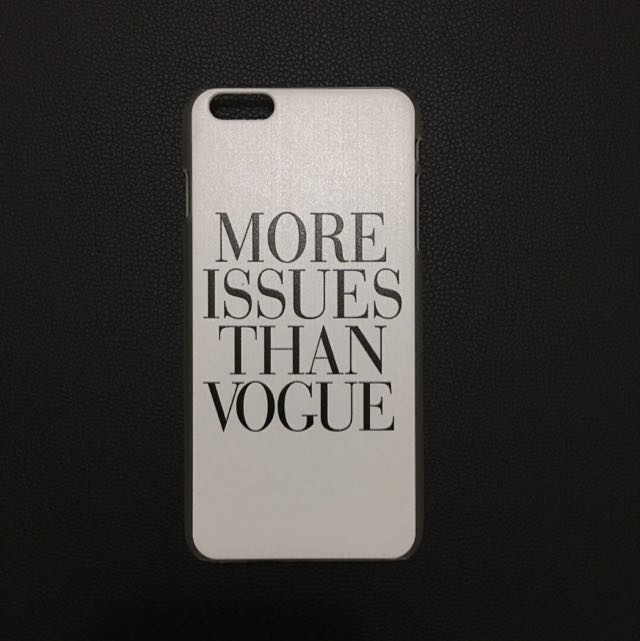 """iPhone 6/6S Plus """"More Issues Than Vogue"""" Case"""