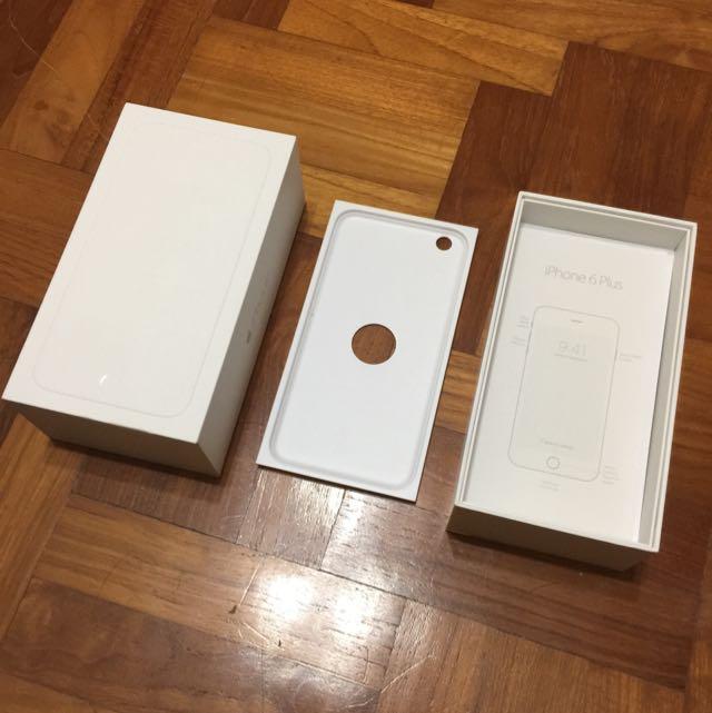 iPhone 6 Plus box