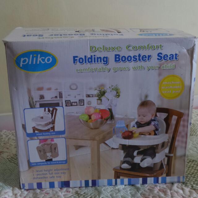 Kursi Makan Bayi Pliko Folder Booster Seat