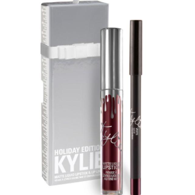 Kylie Cosmetics Holiday Lip Kit- Vixen