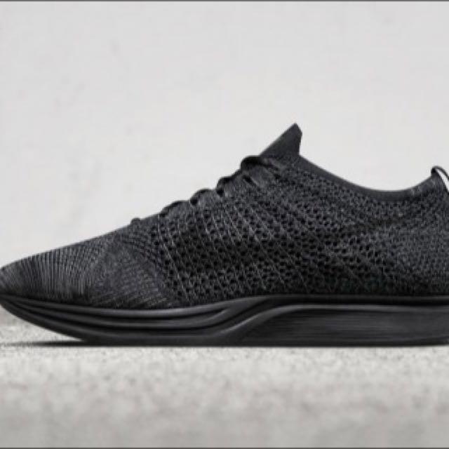 Latest Nike Flyknit Racer Triple Black ‼️
