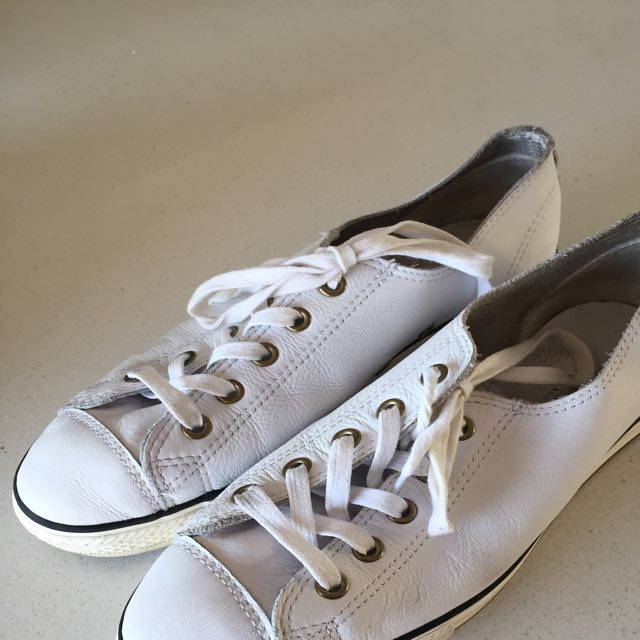 Leather Converse Size 7.5