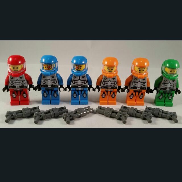 LEGO Galaxy Squad Robot Minifigure 70705 Orange Robot new