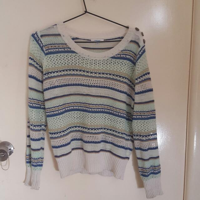 light knit jumper!