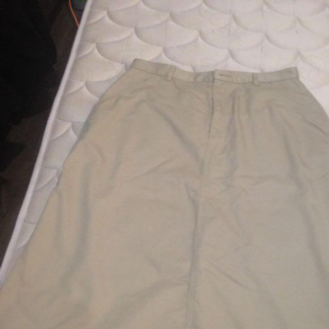 Long And Ease long Skirt