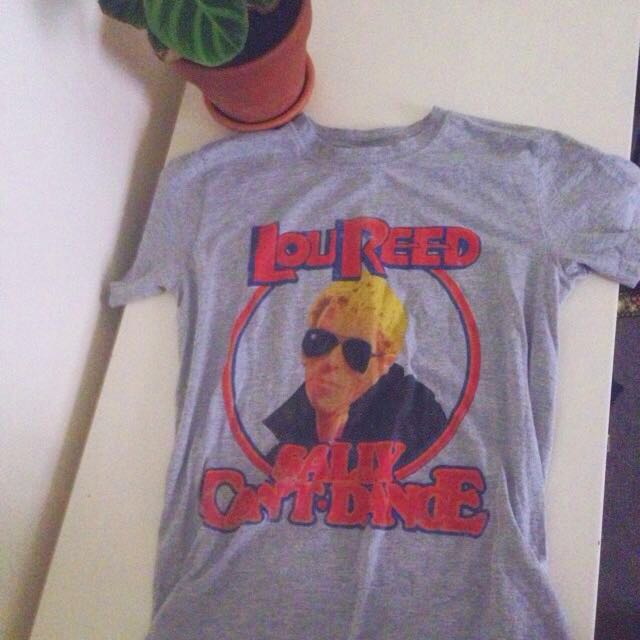 *reduced* Lou Reed Tee