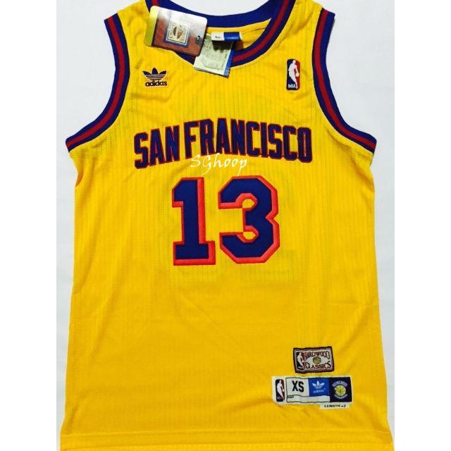 be18a976b0d NBA Golden State Warriors Wilt Chamberlain Swingman Jersey, Bulletin ...