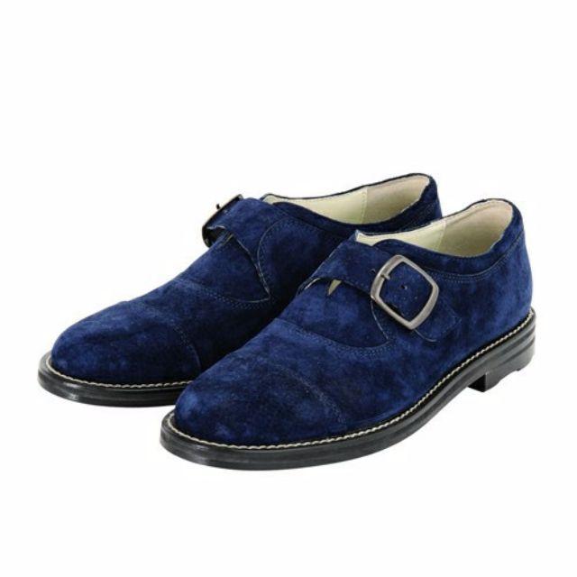 Ne-net 藍色 紳士鞋 24.5~25.0 日本製 高質感