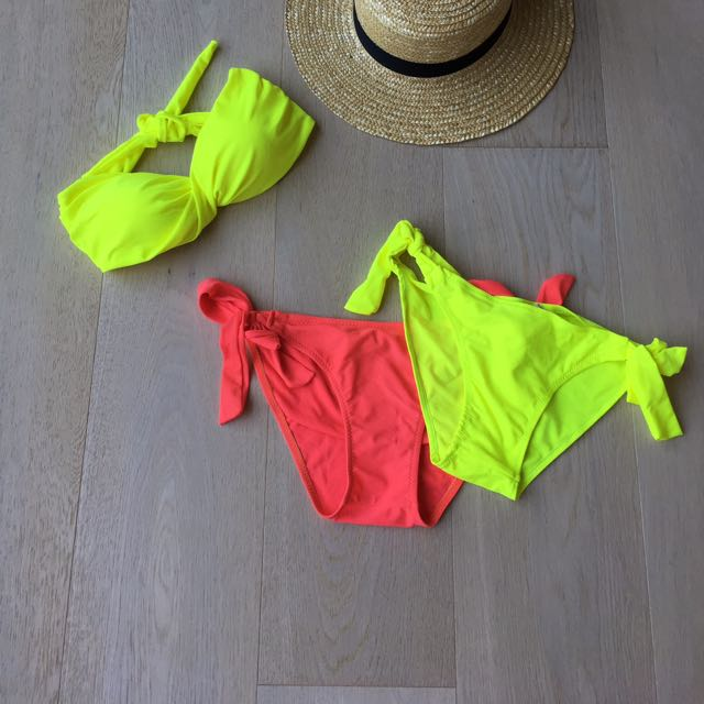 Neon Bikini Set