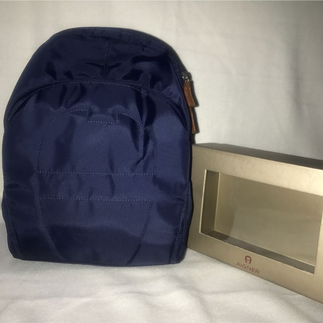 NEW AIGNER BACKPACK Authentic