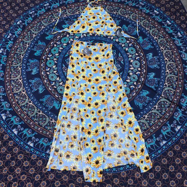 Paper Heart Sunflower Set