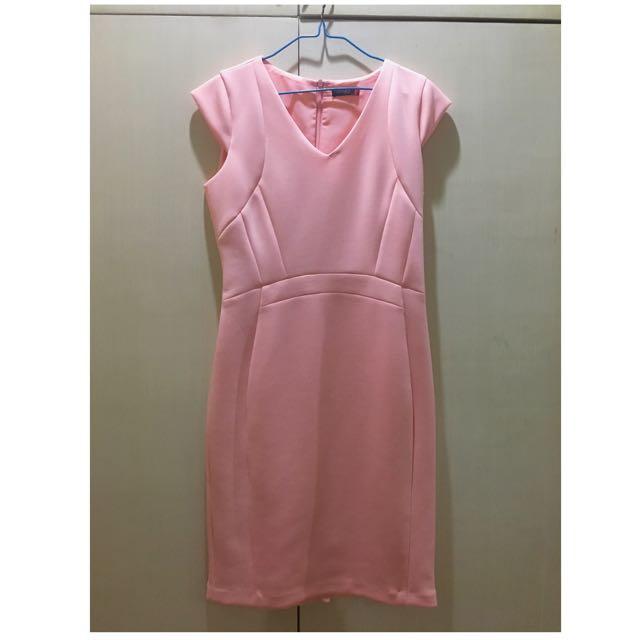 Pink SM Woman Dress