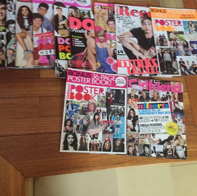 Poster Books And Quiz Magazines