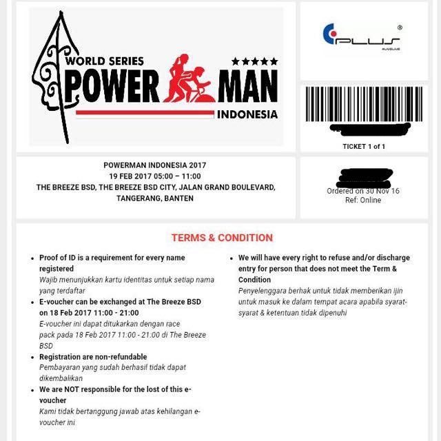 POWERMAN Running & Cycling Event
