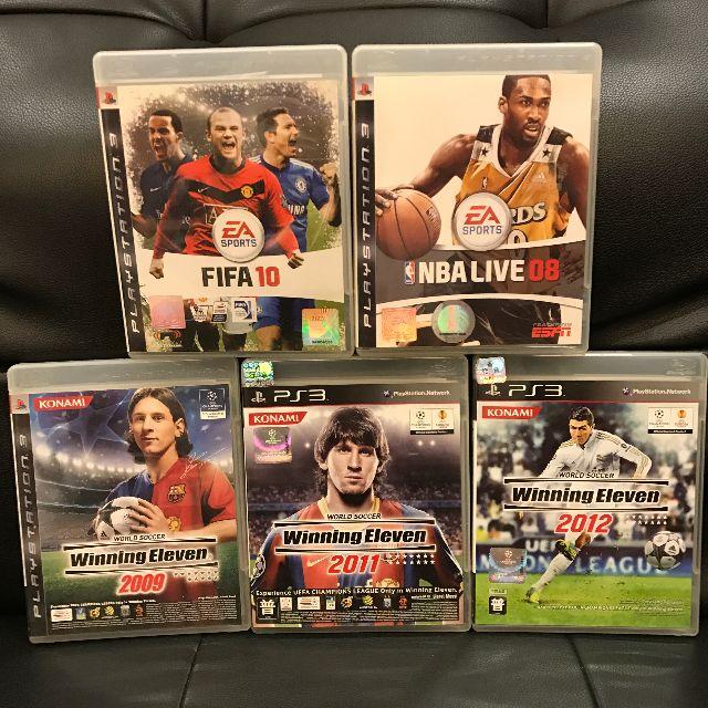 PS3 五隻GAME $50 只限灣仔太古交收