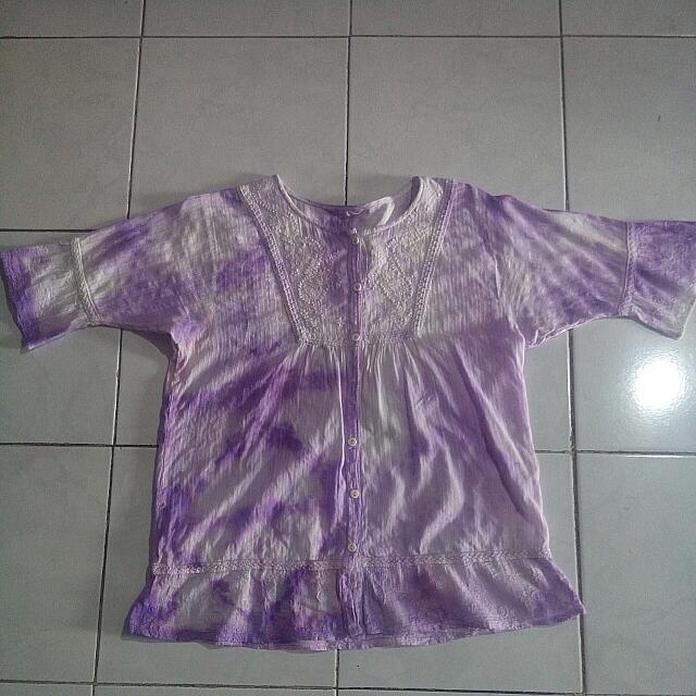 Purple Gradation Top