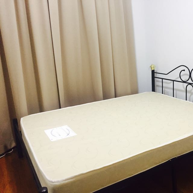 Queen Size Bed Frame - Almost New
