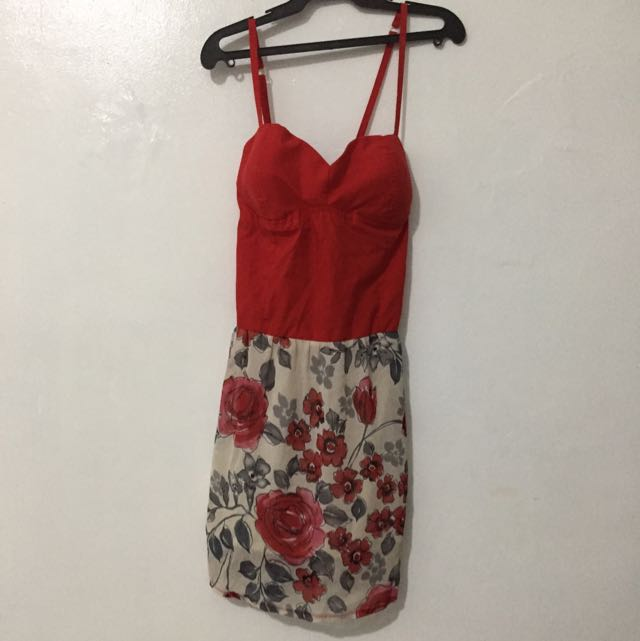 Red Tube Dress S-M