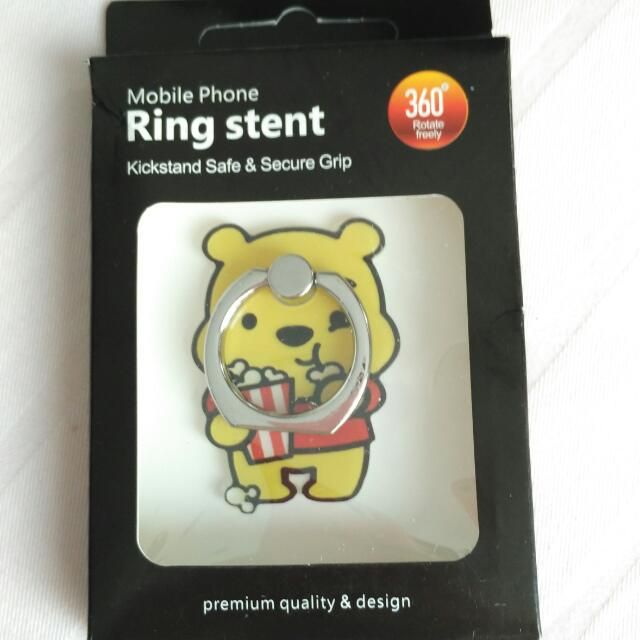 Ring Stent - iRing Winnie The Pooh