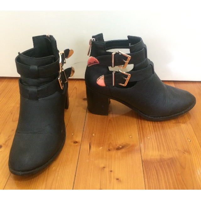Rubi shoes black boots