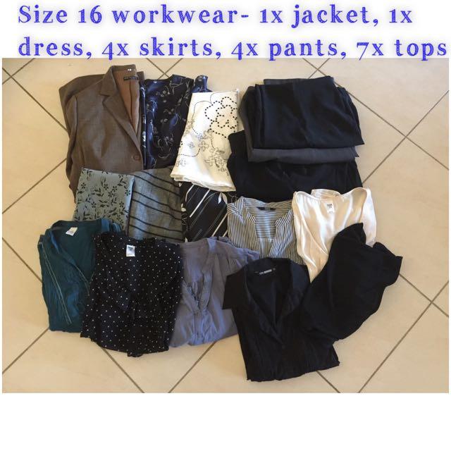 Size 16 Workwear Bulk Loy