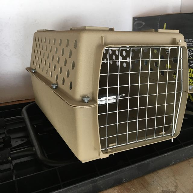 Small Portable Dog Or Cat Crate