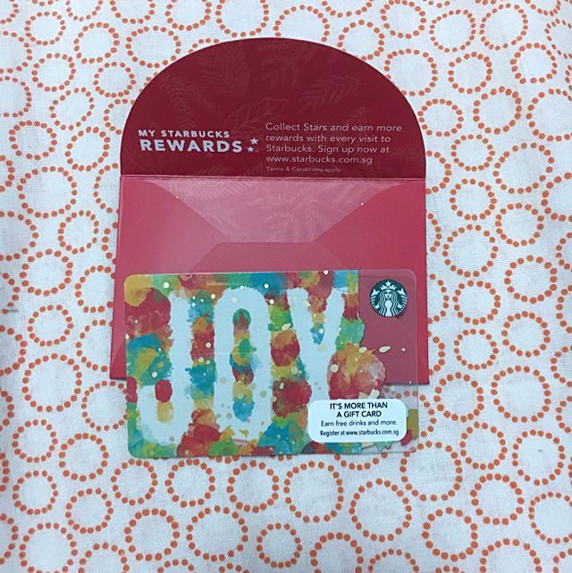 Starbucks Rewards card