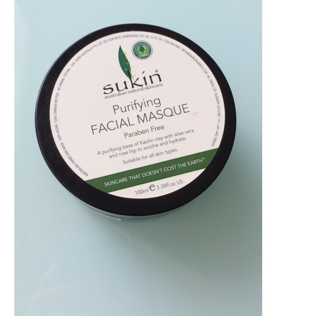 Sukin purifying facial masque RRP$16