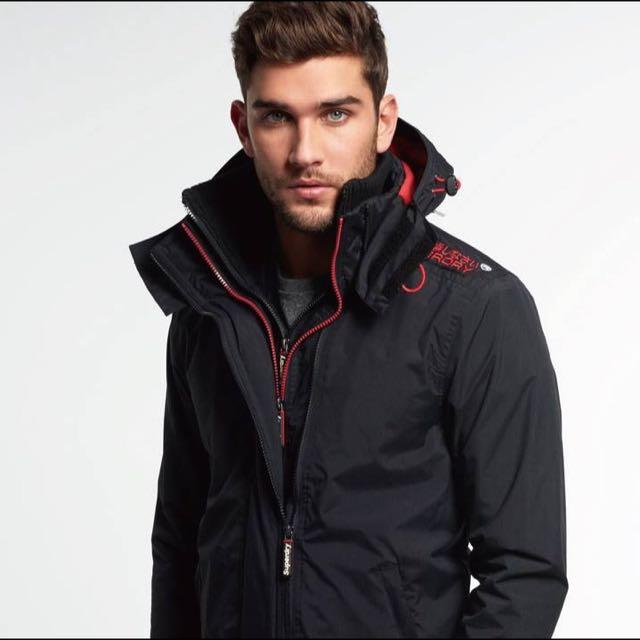 極度乾燥SUPERDRY ARCTIC WINDCHEATER JACKET 風衣 連帽外套 防風R字