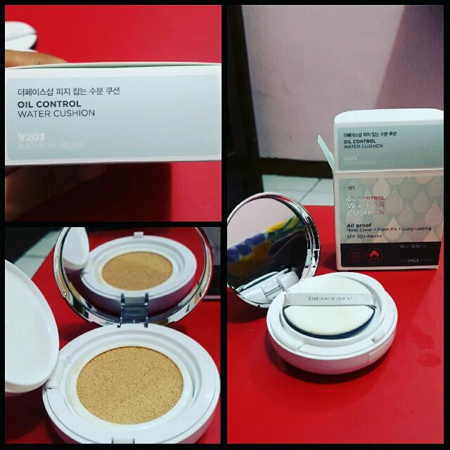 The Face Shop Oil Control Water Cushion 203