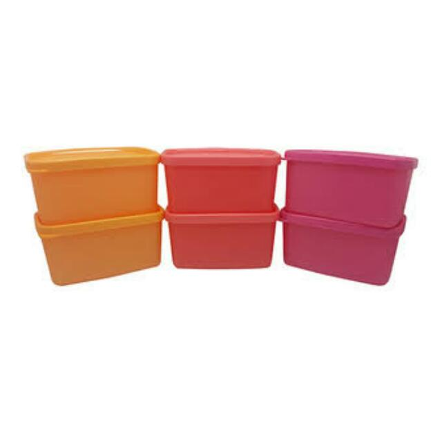 Tupperware Mini Square Set