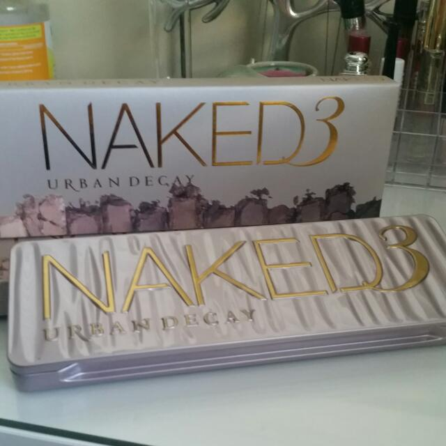 URBAN DECAY EYESHADOW PALETTE NAKED 3 (new)