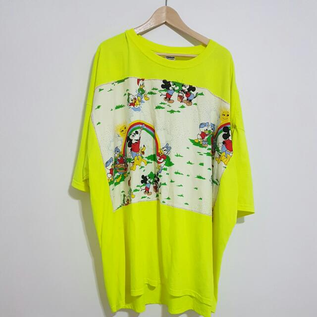 Vintage Mickey Mouse Oversized Tshirt 5 XL