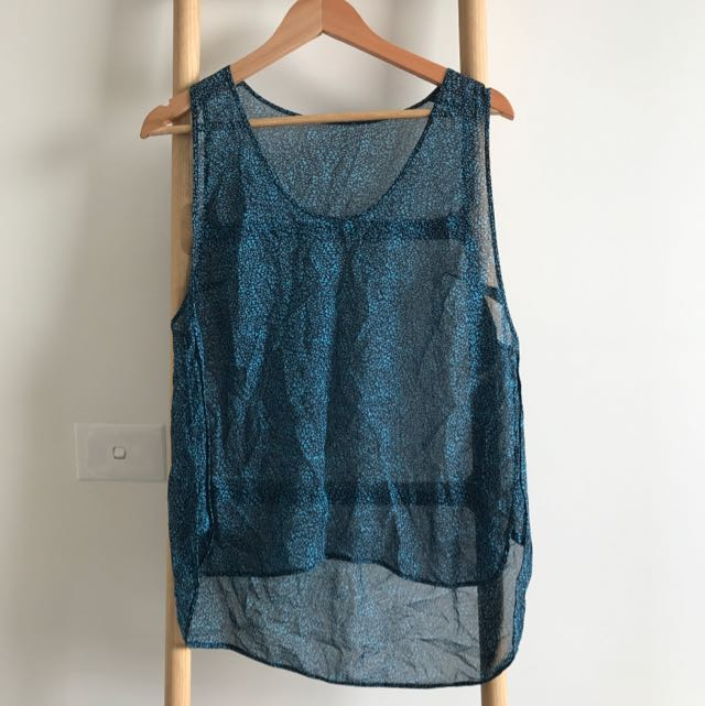 Willow Silk Top, SZ 12