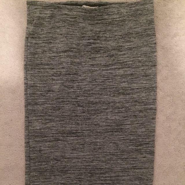 Zara: Grey Pencil Skirt