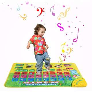 Music Learning Touch Carpet Mat Kids Toys