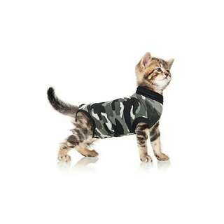 Cat Recovery Suit - Black Camo