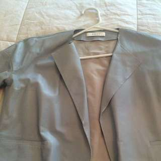 Aeron Leather Jacket Size 4