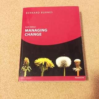 Managing Change Textbook
