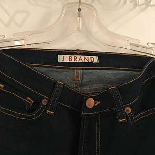 J Brand Straight Leg Dark Denim Women's Jeans Size 28/34