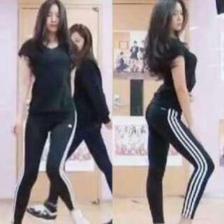 Apink Naeun Adidas Leggings