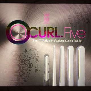 GS Professional oCurl Five (5 in 1) Curling Tool Set