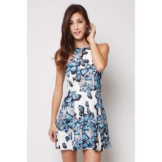 Colleen Dress In Blue