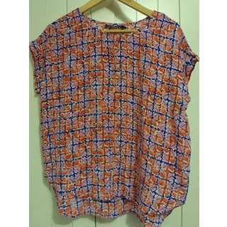 Sportscraft 100% silk top blouse size 12 As new excellent