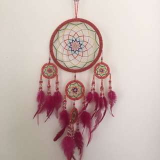 Hand-beaded Dream Catcher