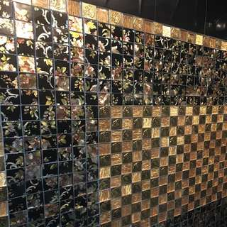 Cheap Mosaic Toilet Feature Wall/Floor Tiling