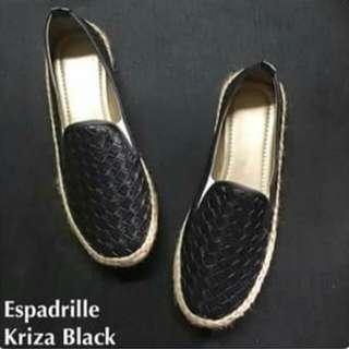 Espadrille-black