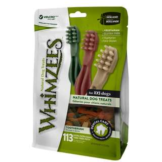 Whimzees Natural Dog Chews – Toothbrush