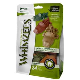 Whimzees Natural Dog Chews – Alligator